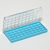 G27750A Storing Plastic Box with 50 compartments, 10x8x4,5mm each