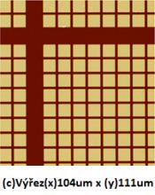 S2005 PLANOTEC Si test specimen, 5um grid (x/y), unmounted