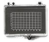 Micro-Tec GB32AS gel carrier box, clear lid/anti-static black ABS base, 74x66x15mm, 10 ks/bal