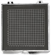 Micro-Tec GB44AS gel carrier box, clear lid/anti-static black ABS base, 130x120x14mm, 5 ks/bal