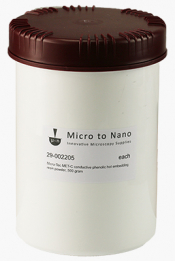Micro-Tec MET-C conductive phenolic hot embedding resin powder, black, 500 gr.
