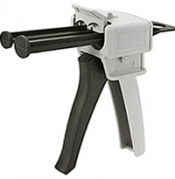 Dispenser gun  for 50ml two component epoxy cartridge, 1:1/2 ratio, compatible with Hysol 1C-LV 50ml cartridge