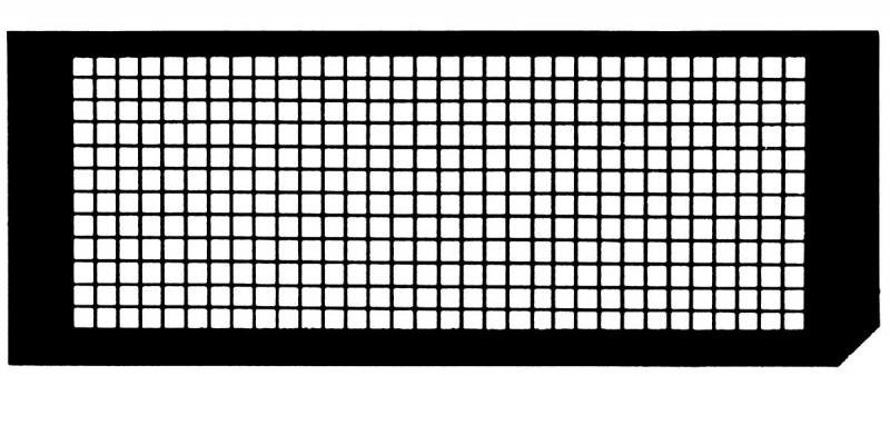 Speciální typy sítěk (Special type grids)