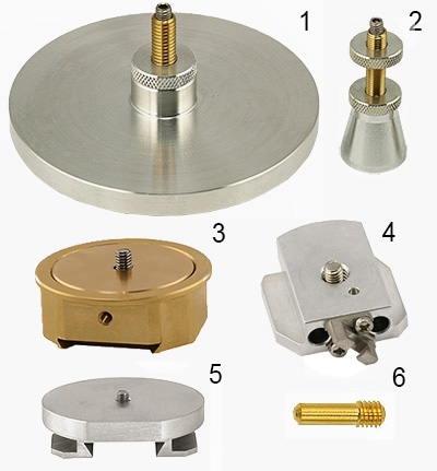Adaptéry pro SEM stolky různých výrobců (Versatile SEM stage adapters)