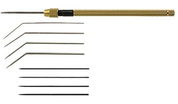 Jemné jehlové sondy (Fine needle probes)